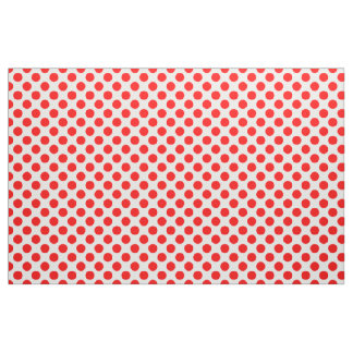 Red Polka Dots Fabric
