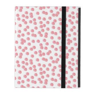 Red Polka Dots iPad 2/3/4 Case iPad Folio Case