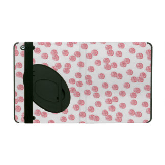 Red Polka Dots iPad 2/3/4 Case with Kickstand iPad Cover