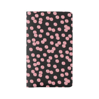 Red Polka Dots Large Notebook