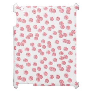 Red Polka Dots Matte iPad Case