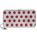 Red Polka Dots Mp3 Speaker