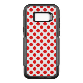 Red Polka Dots OtterBox Commuter Samsung Galaxy S8+ Case