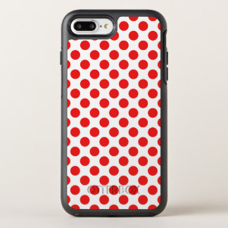 Red Polka Dots OtterBox Symmetry iPhone 8 Plus/7 Plus Case