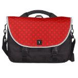 Red polka dots pattern