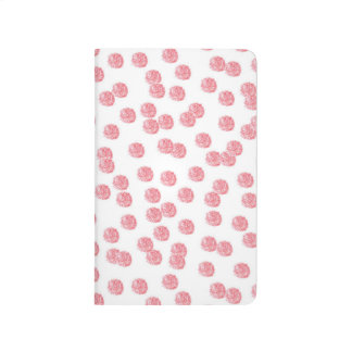 Red Polka Dots Pocket Journal