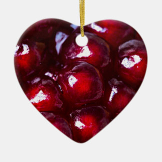 Red Pomegranate Seeds Christmas Ornament