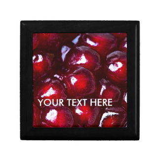 Red Pomegranate Seeds Gift Box