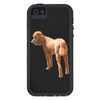 RED POODLE TOUGH XTREME iPhone 5 CASE