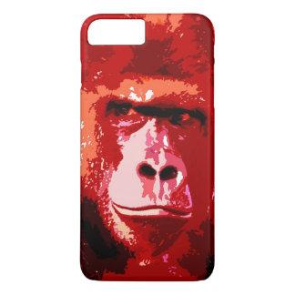 Red Pop Art Gorilla iPhone 7 Plus Case
