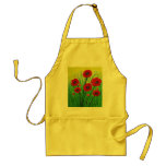 Red Poppies Apron
