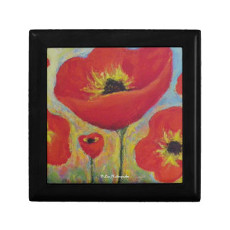 Red Poppies Gift Box