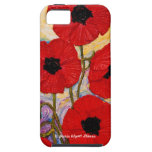 Red Poppies iPhone 5 Case