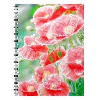 Red Poppies Notebooks