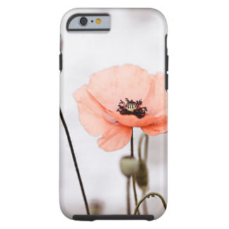 Red Poppy Flowers Tough iPhone 6 Case