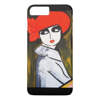 RED POPPY GIRL iPhone 8 PLUS/7 PLUS CASE