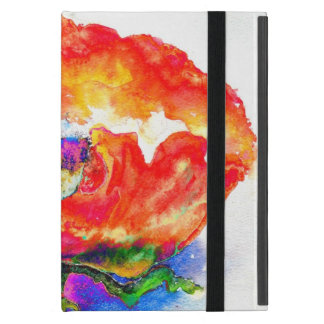 Red Poppy iPad Mini Covers