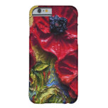 Red Poppy iPhone 6 Case
