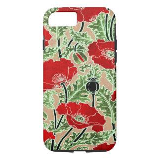 Red Poppy iPhone 8/7 Case
