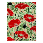 Red Poppy Post Cards