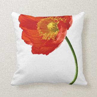 Red Poppy Simplicity Cushion
