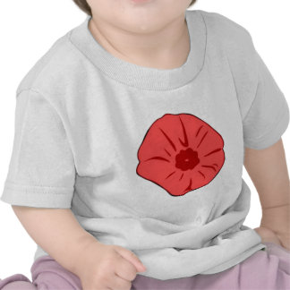 Red Poppy Tshirts