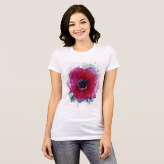 Red poppy Women's  Favourite Jersey T-Shirt #1