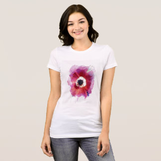 Red poppy Women's  Favourite Jersey T-Shirt #2