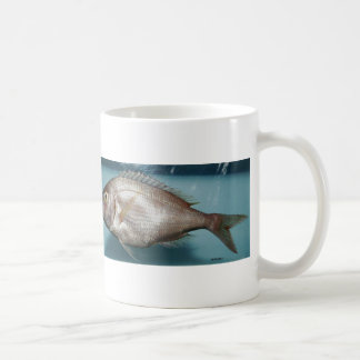 Red Porgy Basic White Mug