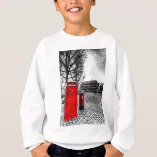 Red Post Box Phone box London Sweatshirt