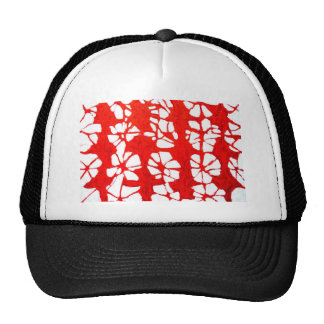 Red Propagation( tachism, abstract expressionism) Cap