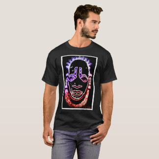 red puppy Benin Mask inspired T-Shirt