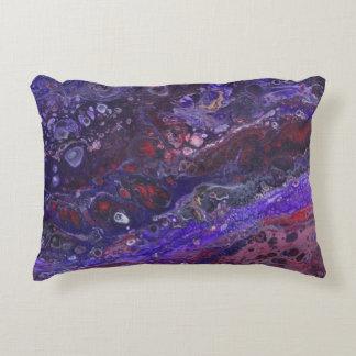 Red & Purple Decorative Cushion