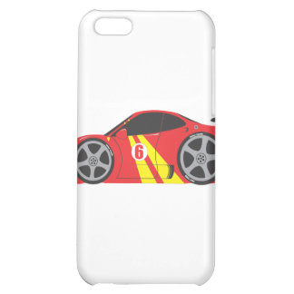 Red Race Car iPhone 5C Case