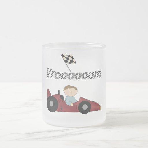 Red Race Car Vroom T-shirts and Gifts Mug