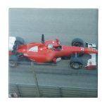 Red Racing Car Tile
