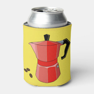 Red Rainbow Espresso Can Cooler
