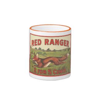 Red Ranger Ringer Mug