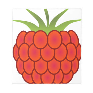 Red Raspberry Line Art Notepads