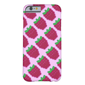 Red Raspberry Pattern iPhone 6/6s Case