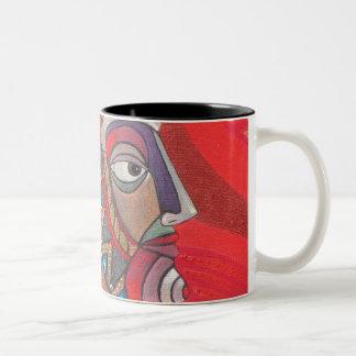 Red Raven Mug