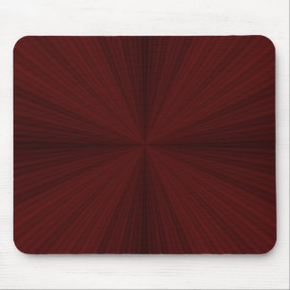 Red Rays Quartered Mousepad