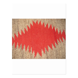 Red Razzle Dazzle Postcard