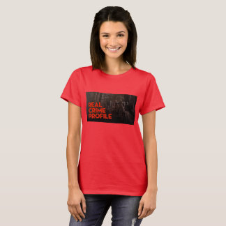 RED REAL CRIME T for WOMEN T-Shirt