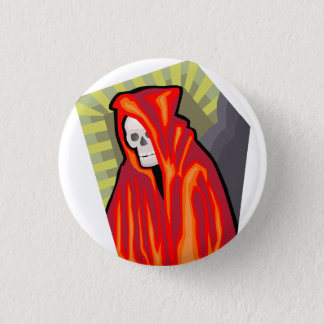 Red Reaper 3 Cm Round Badge
