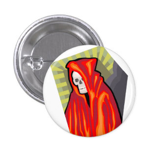 Red Reaper 3 Cm Round Badge
