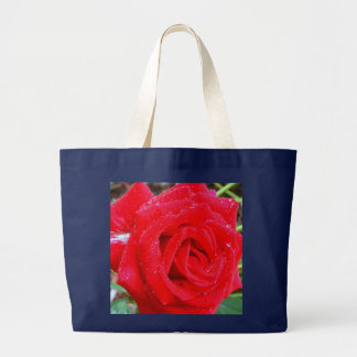 Red Red Rose Large Tote Bag