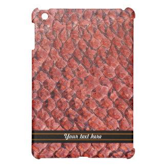 Red Reptile Cover For The iPad Mini