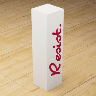 Red Resist Resistance Wine Box