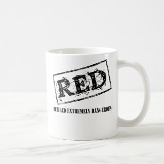RED Retired Extremely Dangerous Coffee Mug